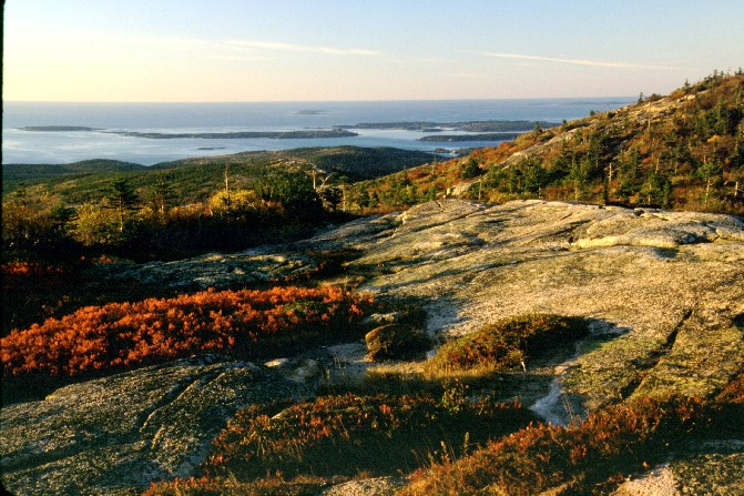 Autumn Mornining on Cadillac Mtn.