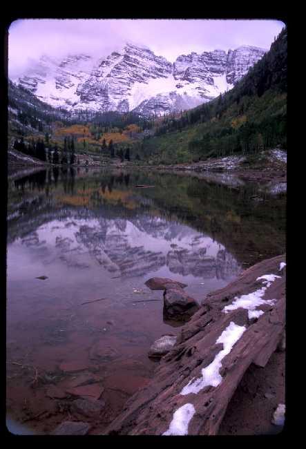 Near Aspen, CO in September