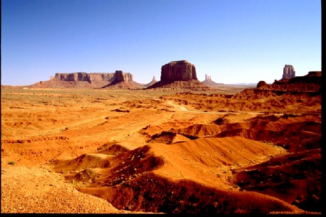 Monument Valley, Navaho Nation