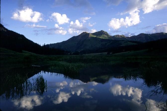 July Dawn near Mt. Bellview