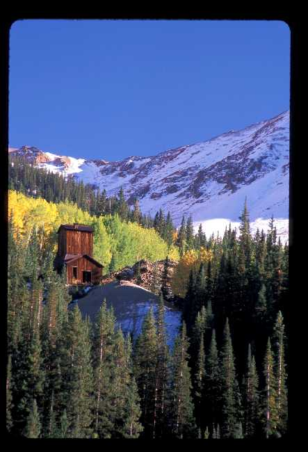 Abandoned mine near Ouray, CO