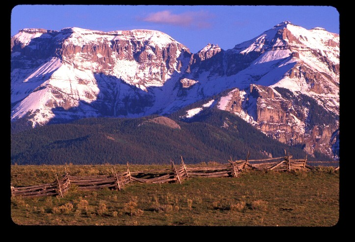 Sneffels Range at Dallas Divide