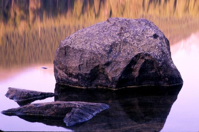 Sprague Lake at sunrise, Rocky Mtn. Nat'l Park, CO