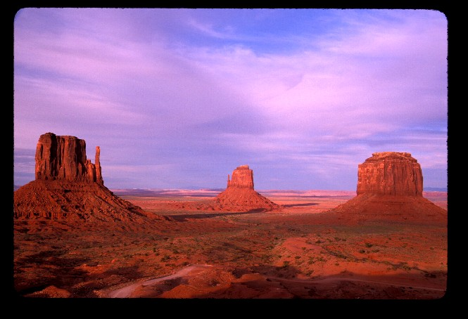 The Mittens and Merrick Butte at Monument Valley